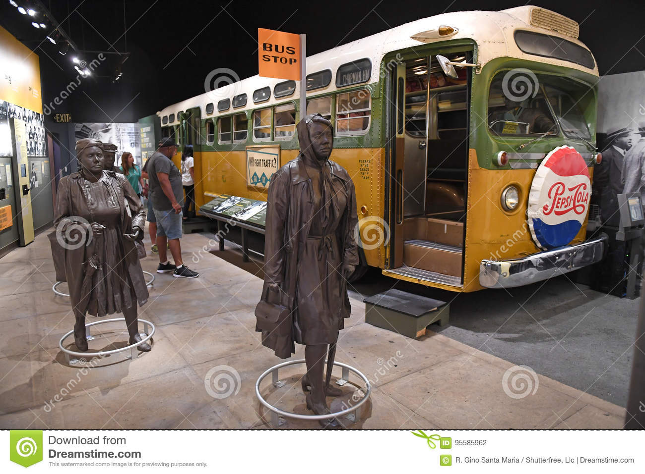 The National Civil Rights Museum in Memphis Tennessee