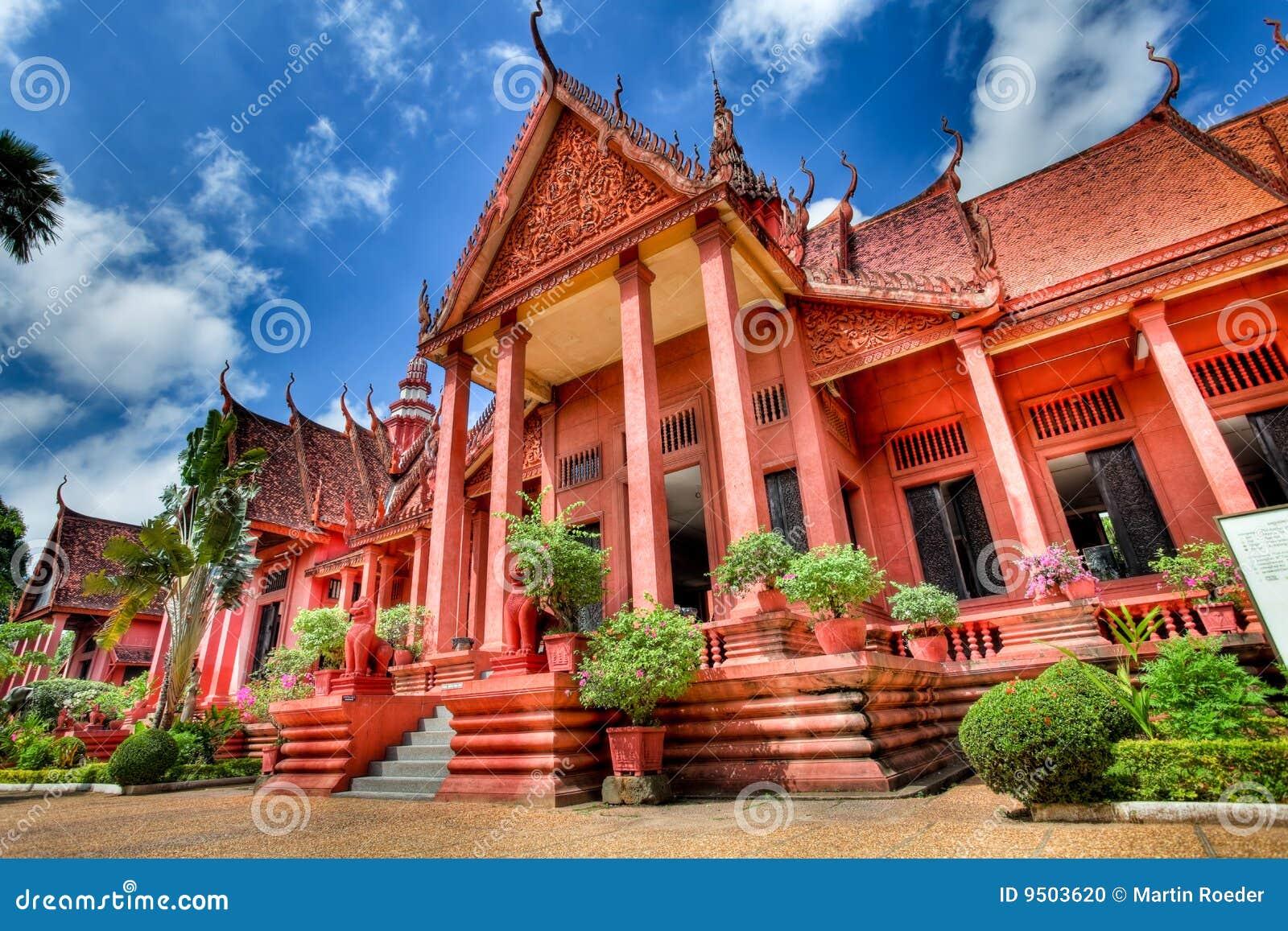 National de musée de hdr du Cambodge