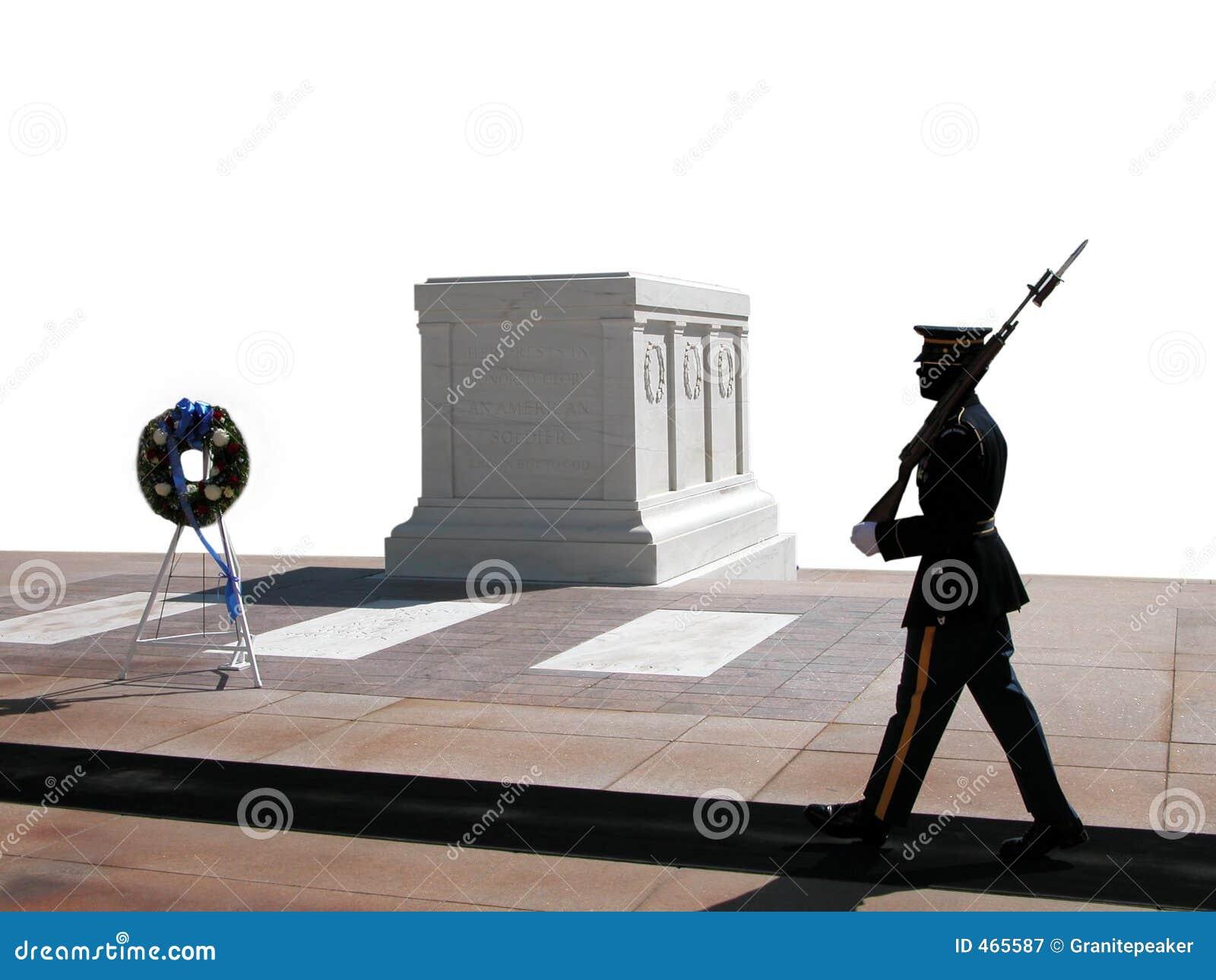 National för guard för arlington kyrkogård ändrande