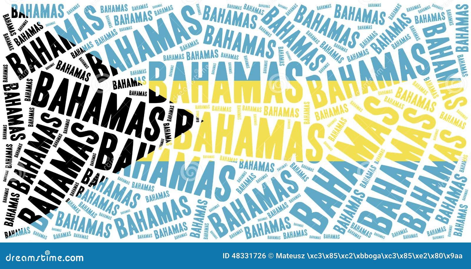 Bahamas Flag Red