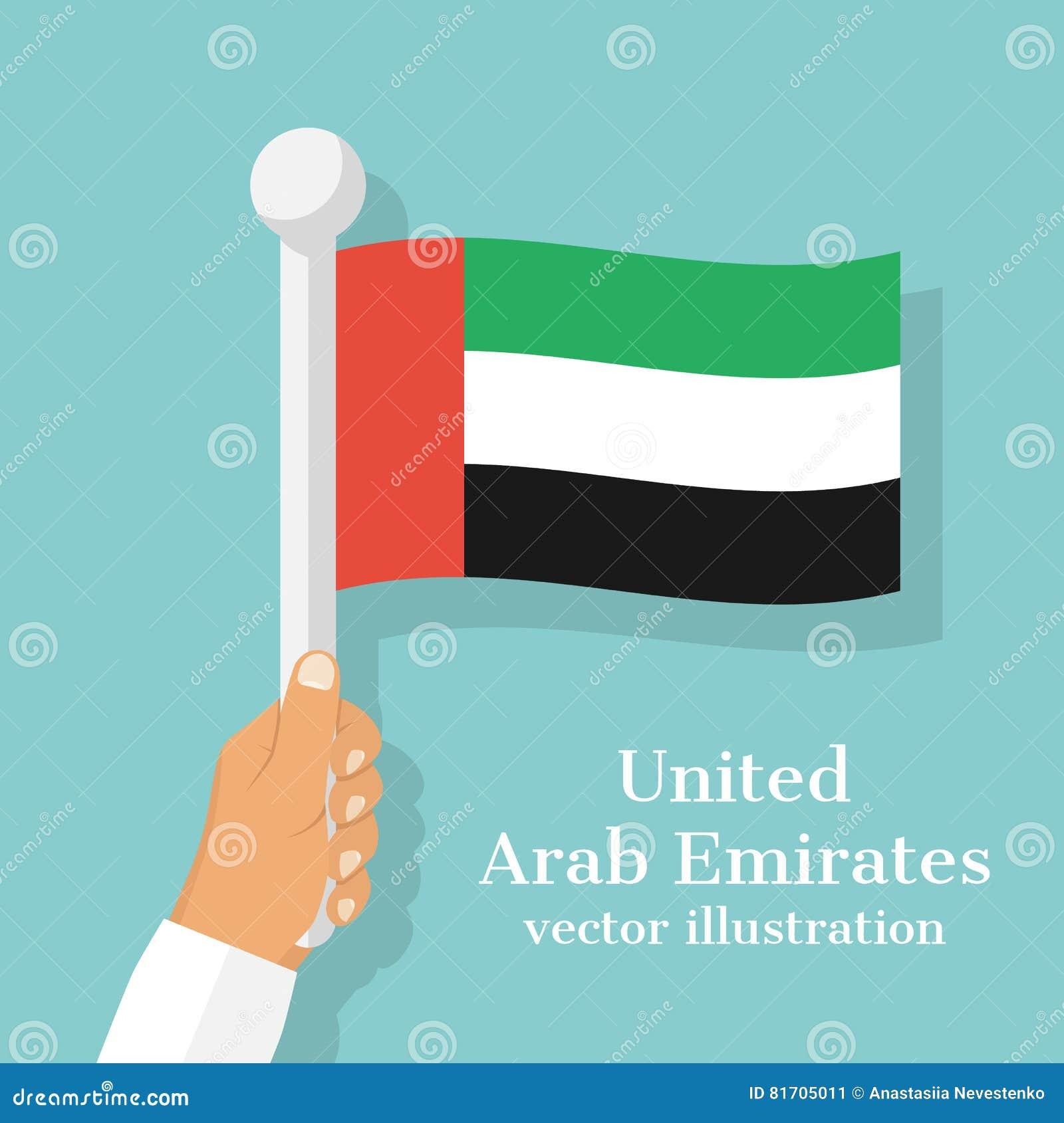 National flag of united arab emirates stock vector illustration national flag of united arab emirates m4hsunfo