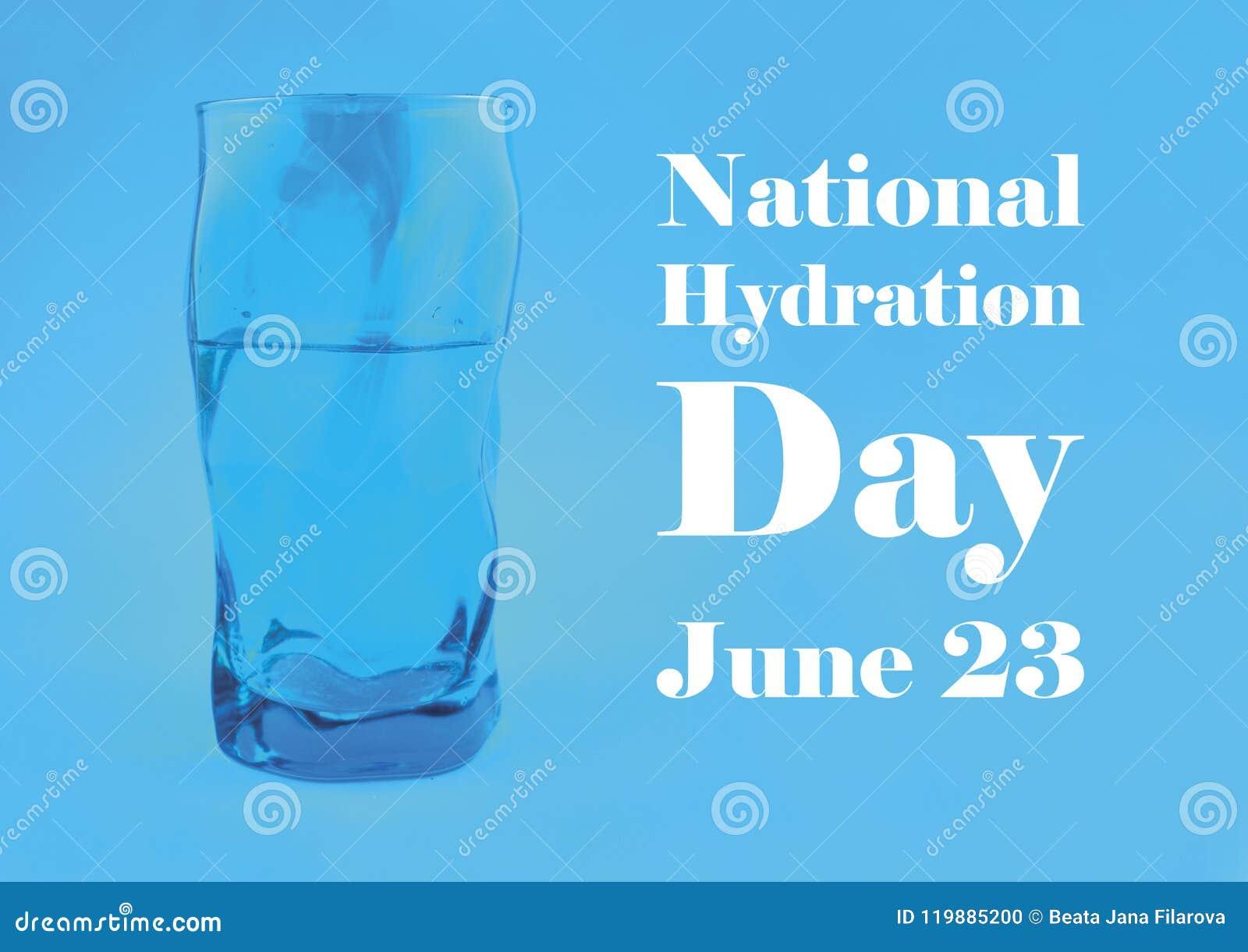 National Hydration Day Illustration Stock Photo Image Of Freshness Fluid 119885200