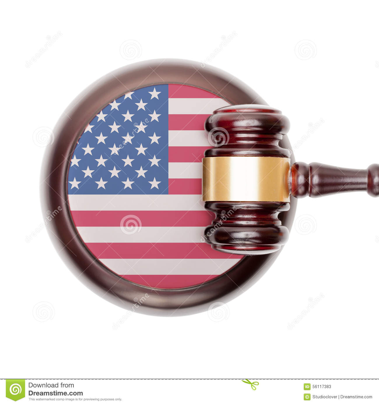 National legal system conceptual series - United States