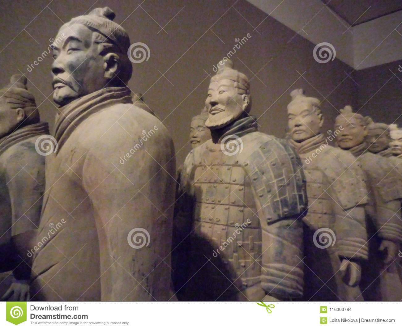 National Museum of Art, Osaka, Japan. The Great Terracotta Army of China`s First Emperor. July 5 - October 2, 2016.