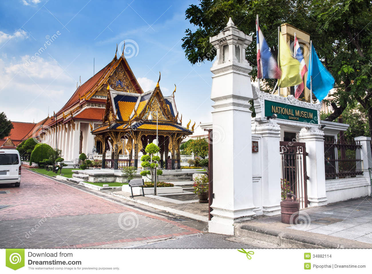 The National Museum,Bangkok, Thailand. Stock Images - Image: 34882114