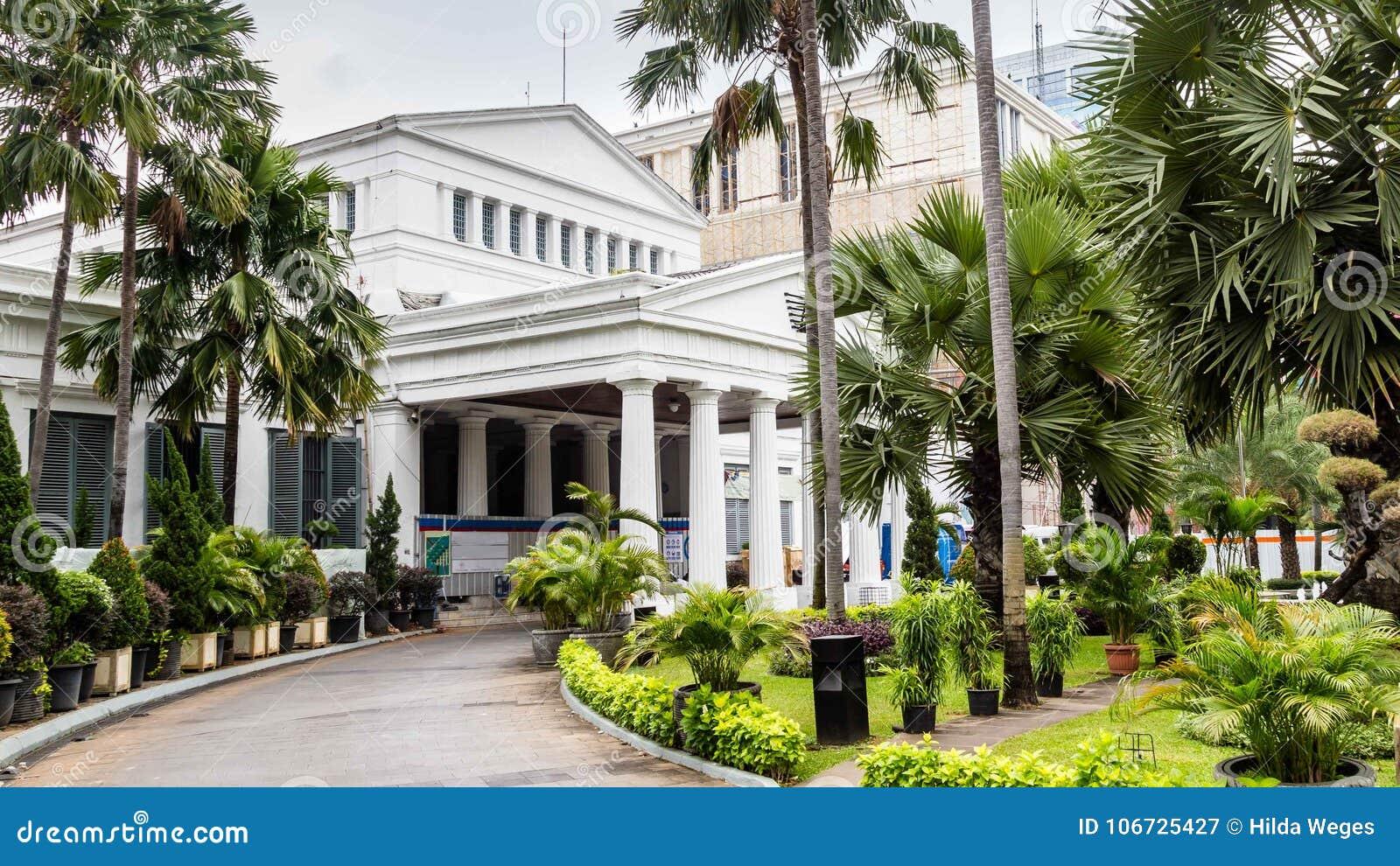 National Museum on Merdeka Square in Jakarta city, Java , Indone
