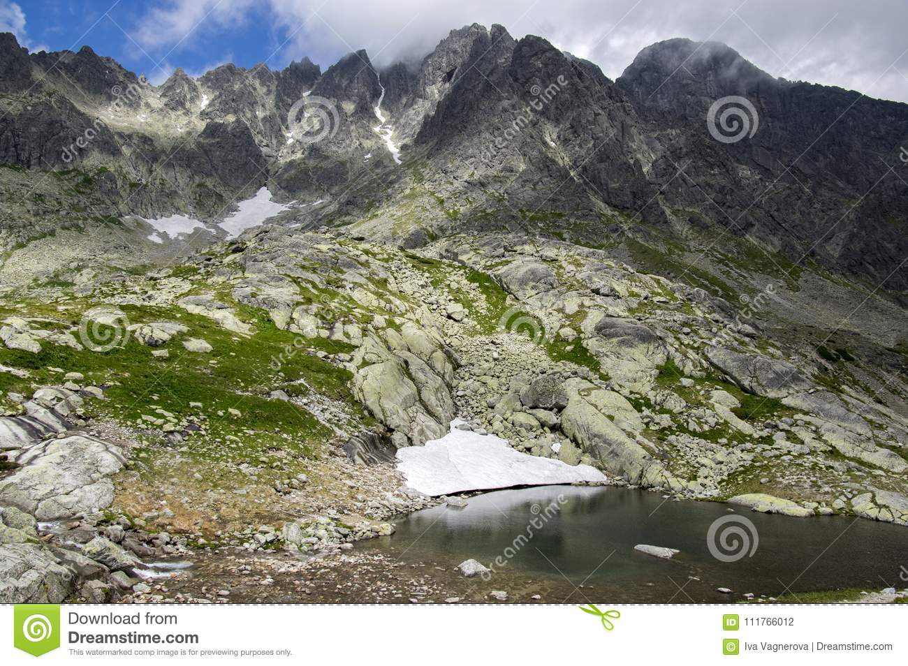 National Nature Reserve Studena Dolina The Neighborhood Of Tery Cottage Pat Spisskych Plies Slovakia Highest Mountains Stock Photo Image Of Natural Rocky 111766012