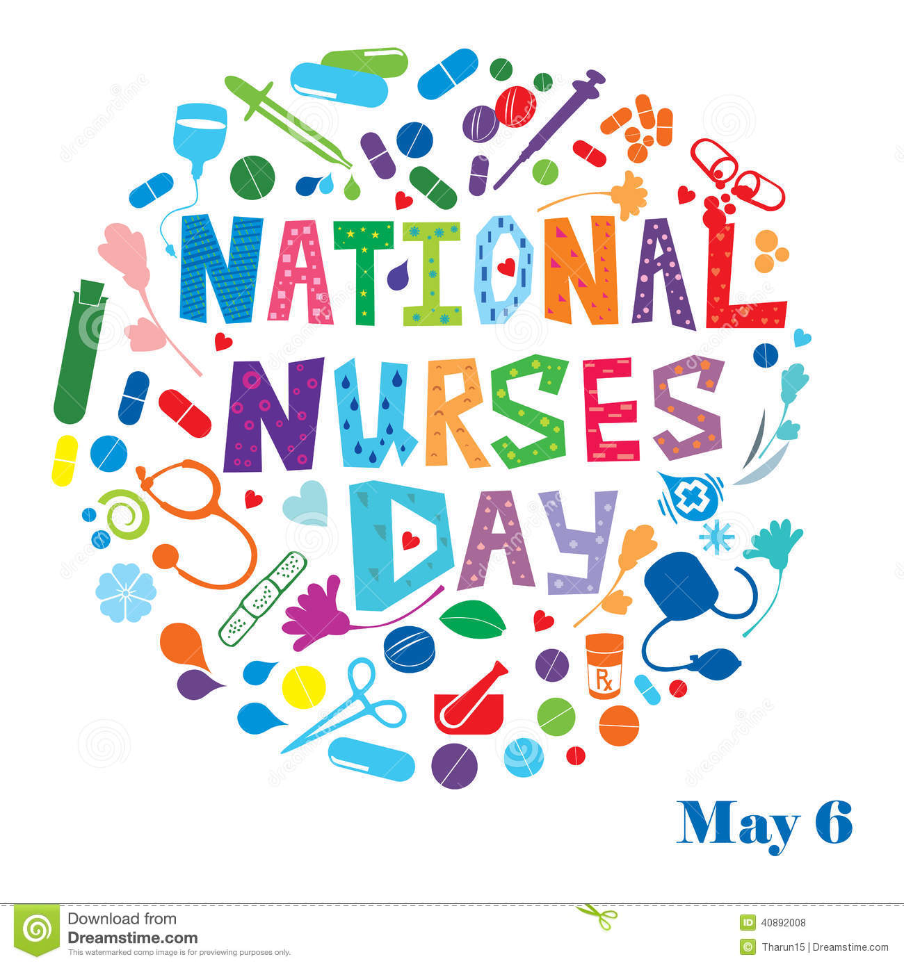 A Cute Wish On Nurses Day. Free Nurses Day eCards, Greeting Cards ...