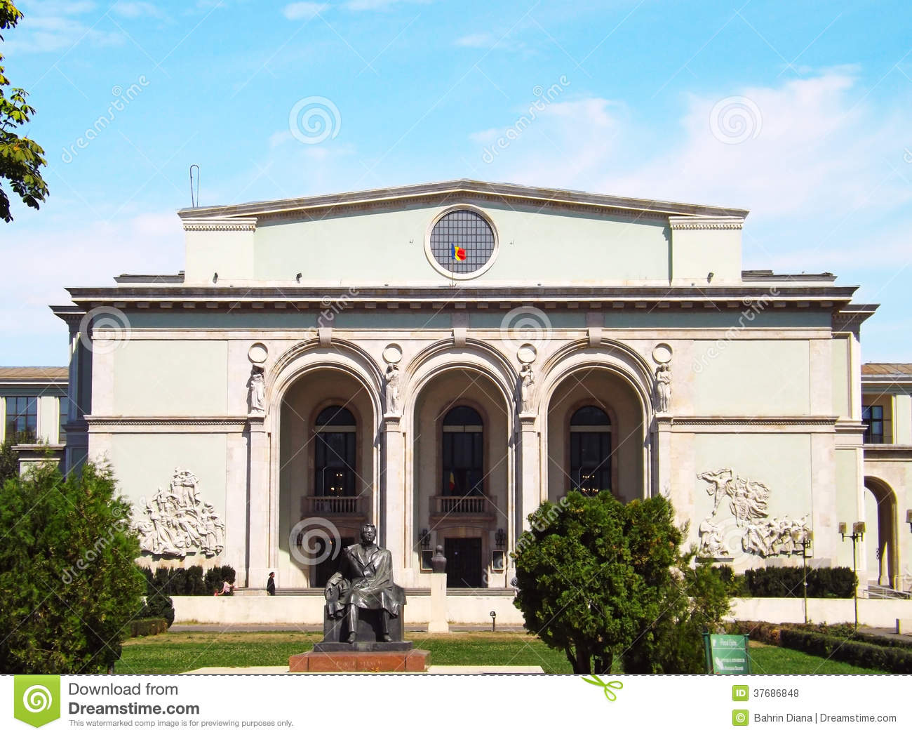 National opera house in bucharest stock photo image for National house builders