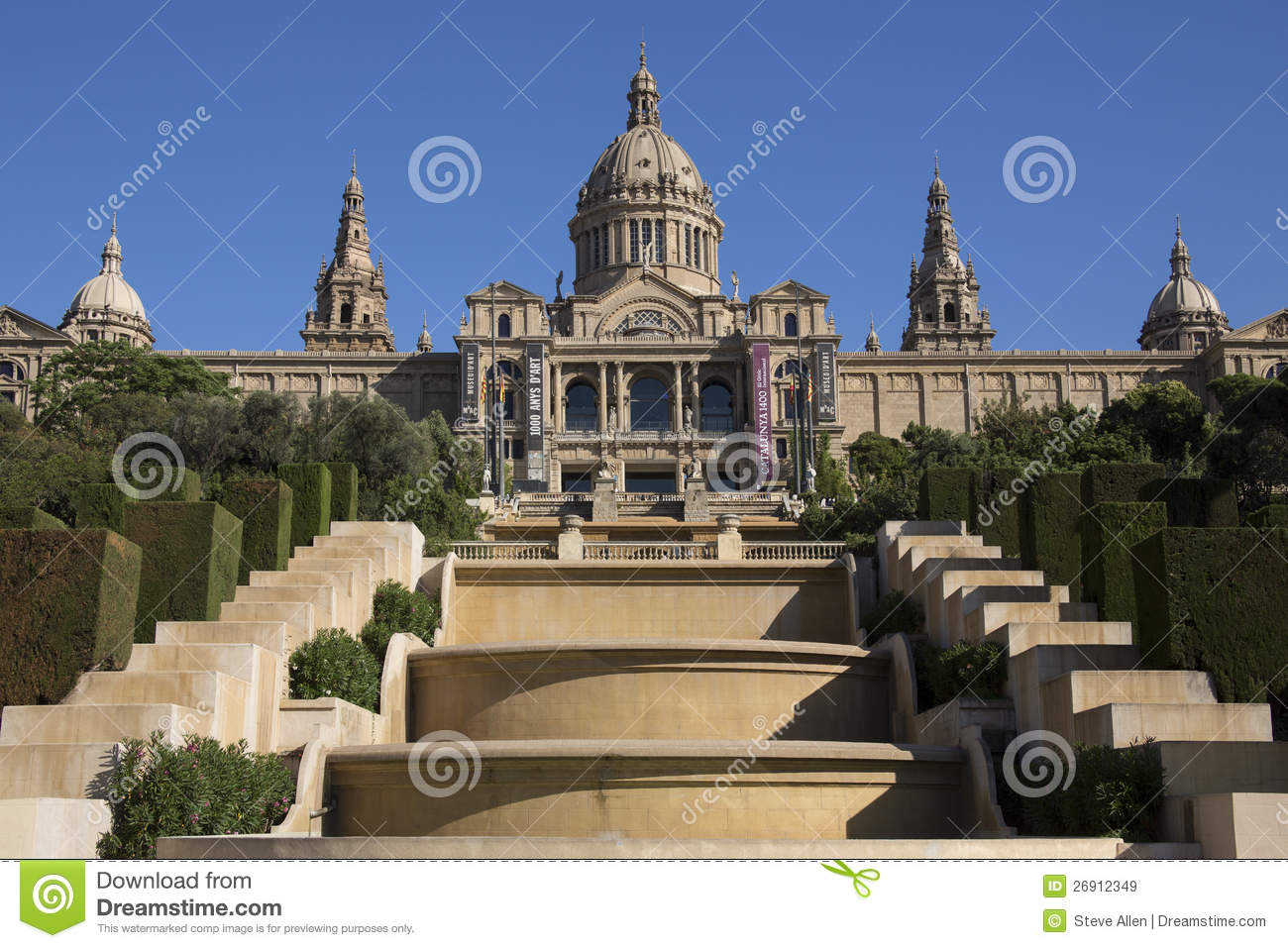 National palace barcelona spain editorial stock image - Hotel palace de barcelona ...