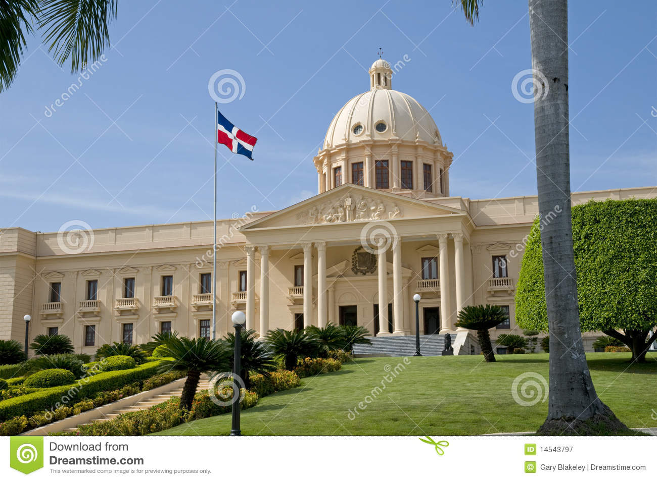 National palace santo domingo royalty free stock for Furniture stores in santiago dominican republic