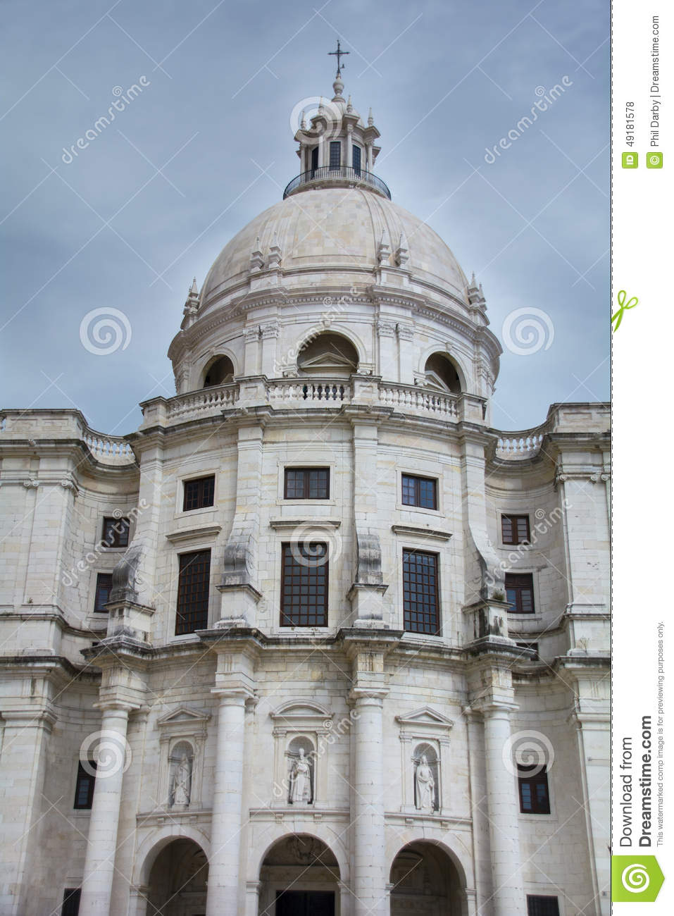 National Panteon, Lisbon,Portugal Stock Photo - Image ...