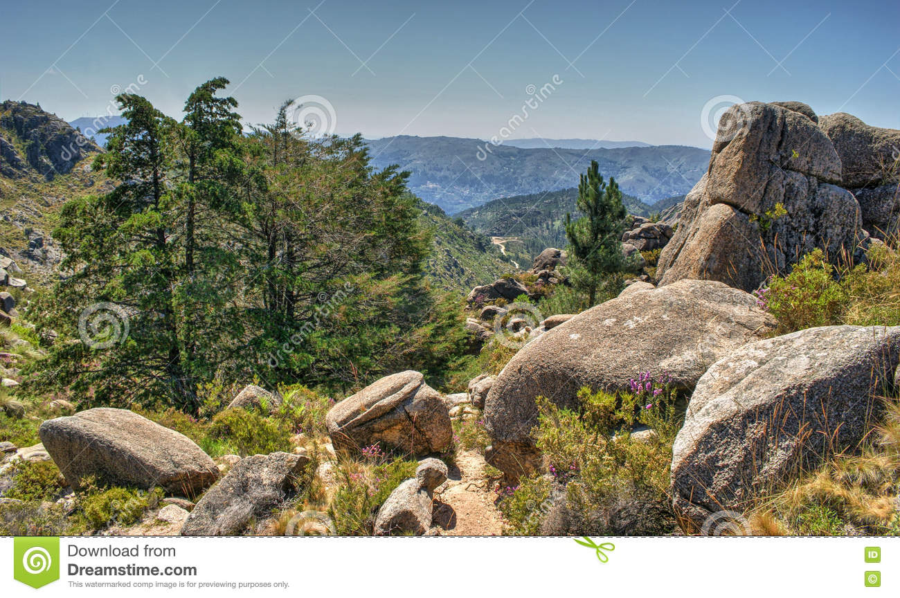 National Park of Peneda Geres in Portugal