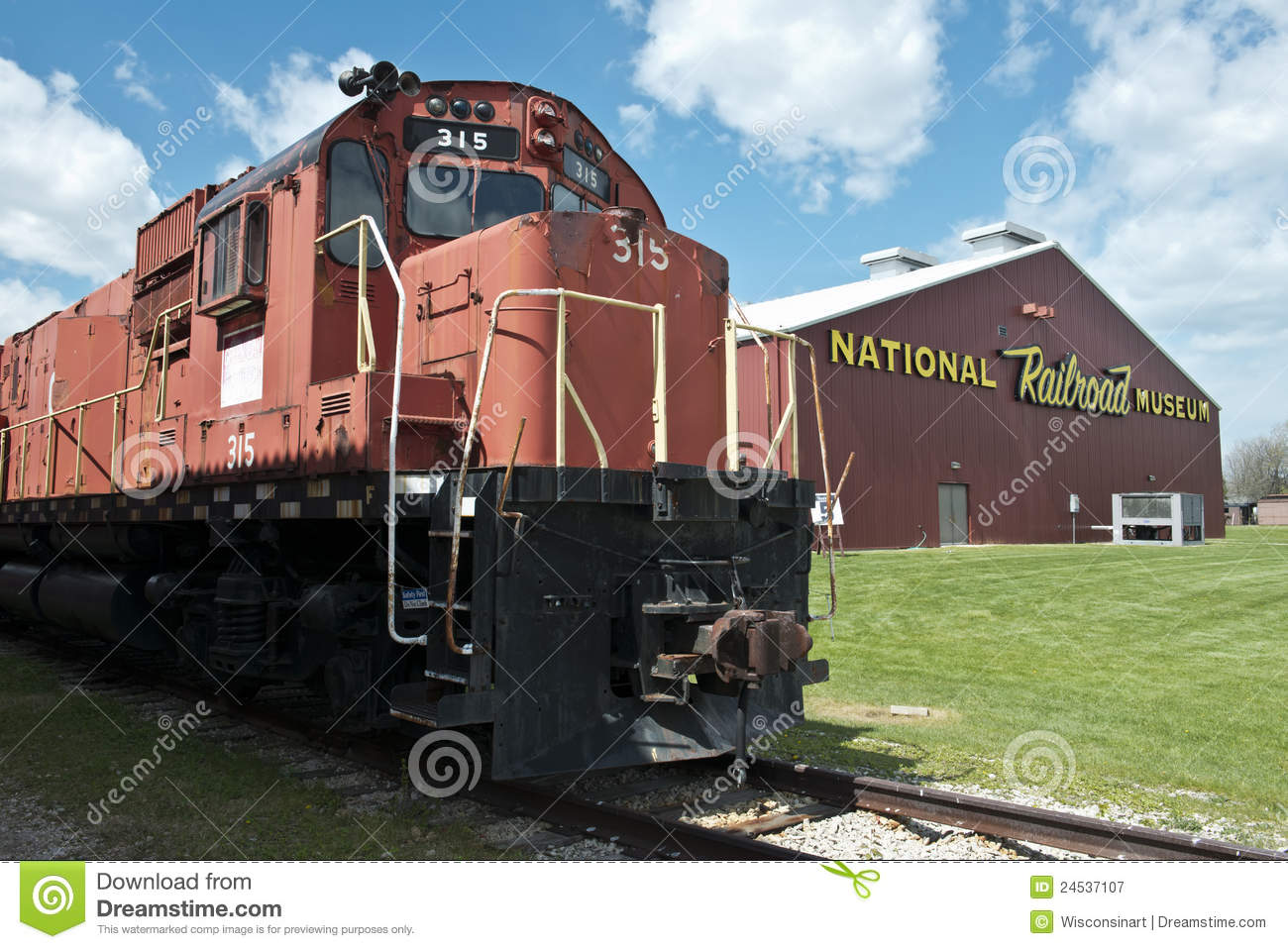National Railroad Museum >> National Railroad Museum Travel To Green Bay Wi Editorial
