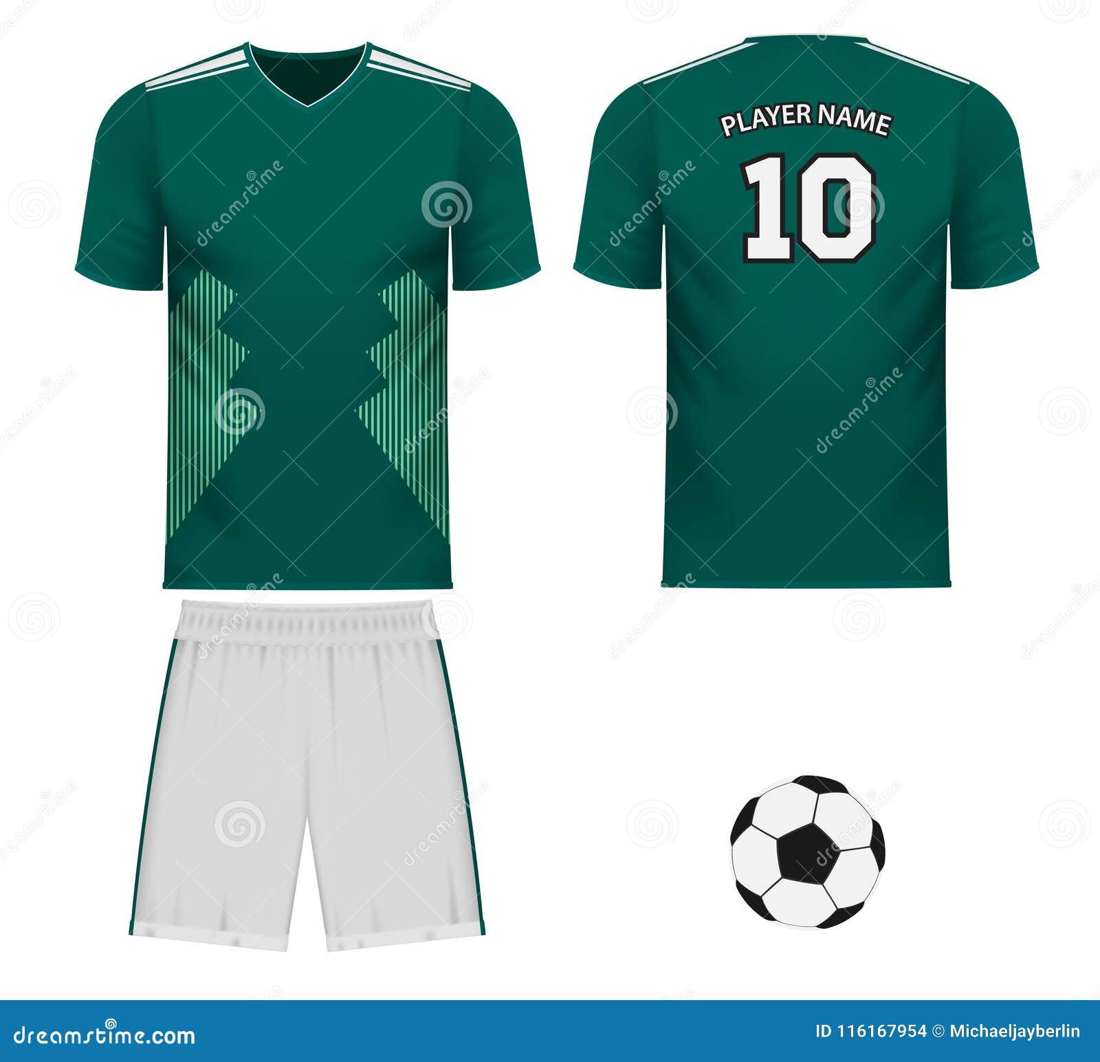 more photos 61005 d95fa National Team Jersey Fan Apparel Stock Illustration ...