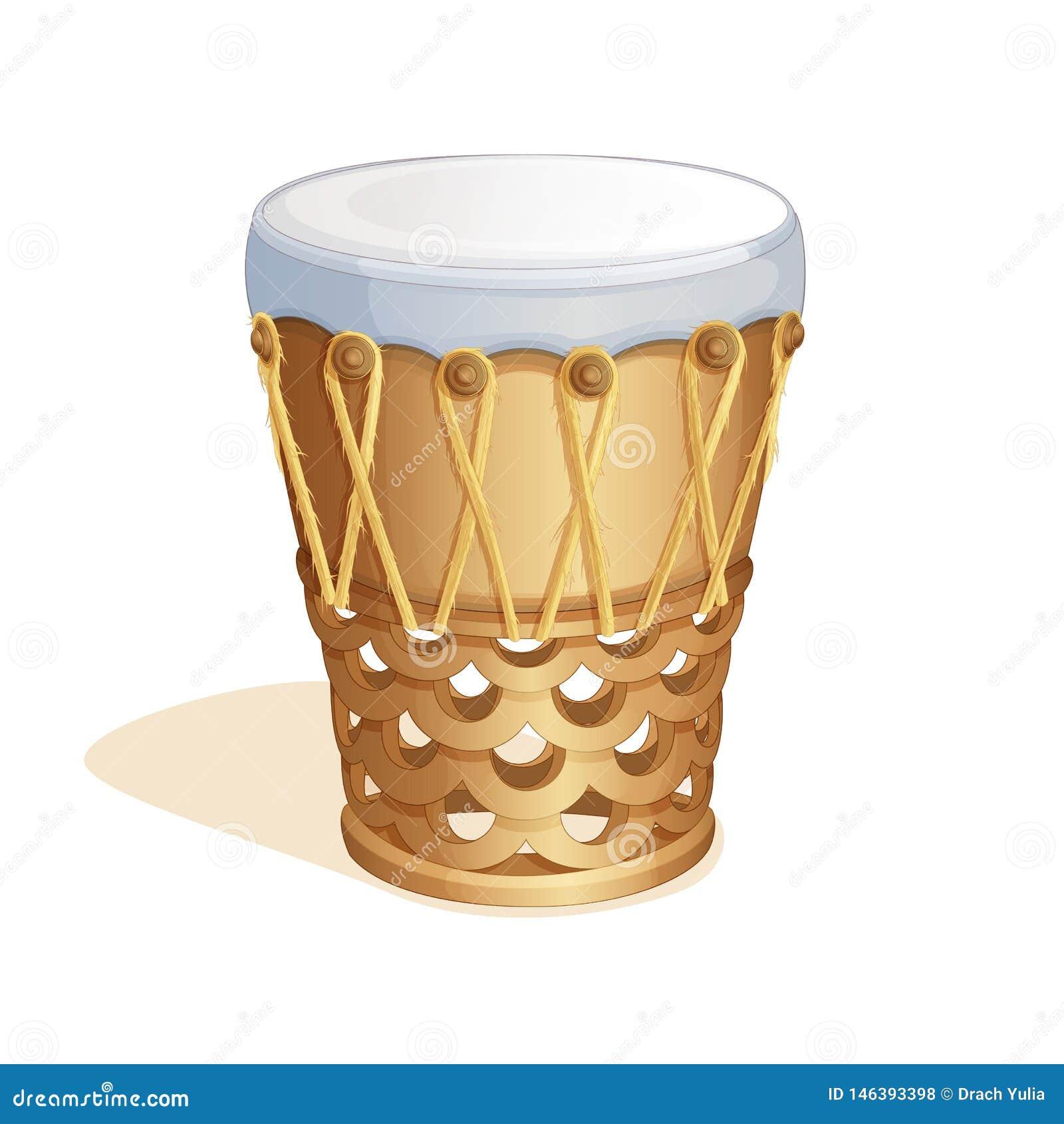 Nationale Hawaiiaanse trommel Pahu Volks muzikale instrumenten van Polynesia voor de dans van Hula