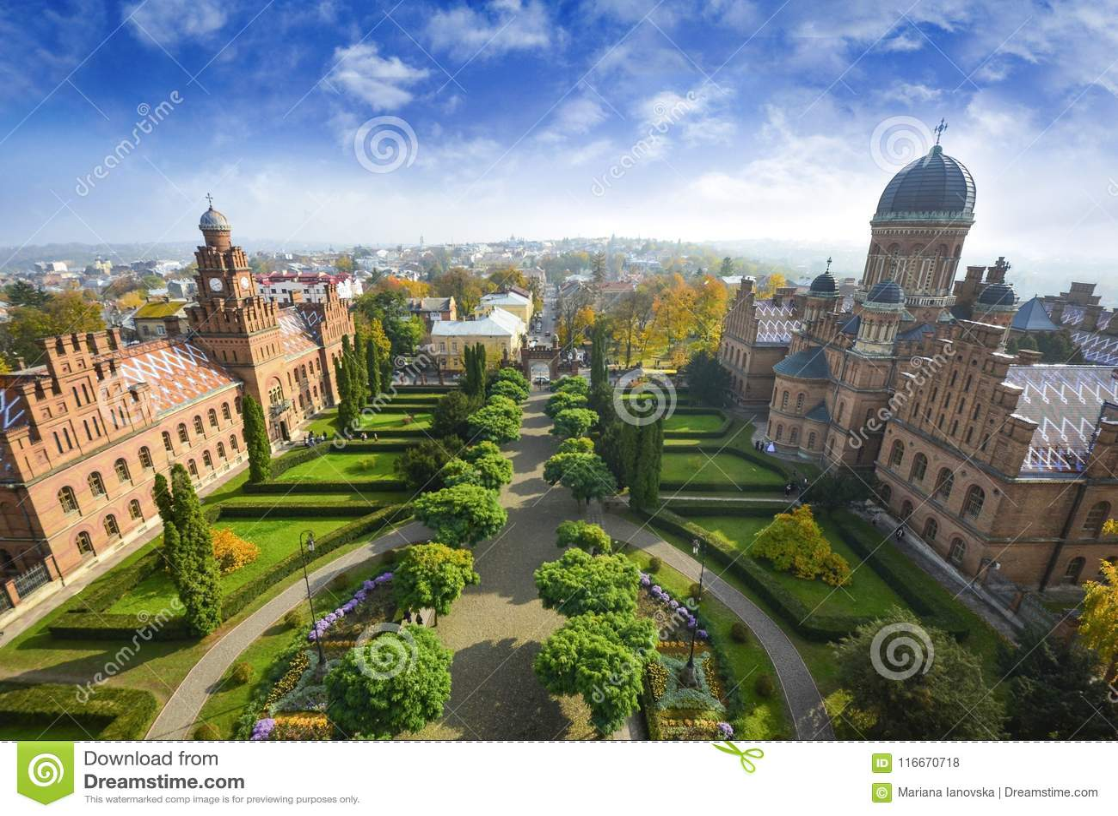 Nationale Hochschullandschaft Chernivtsi