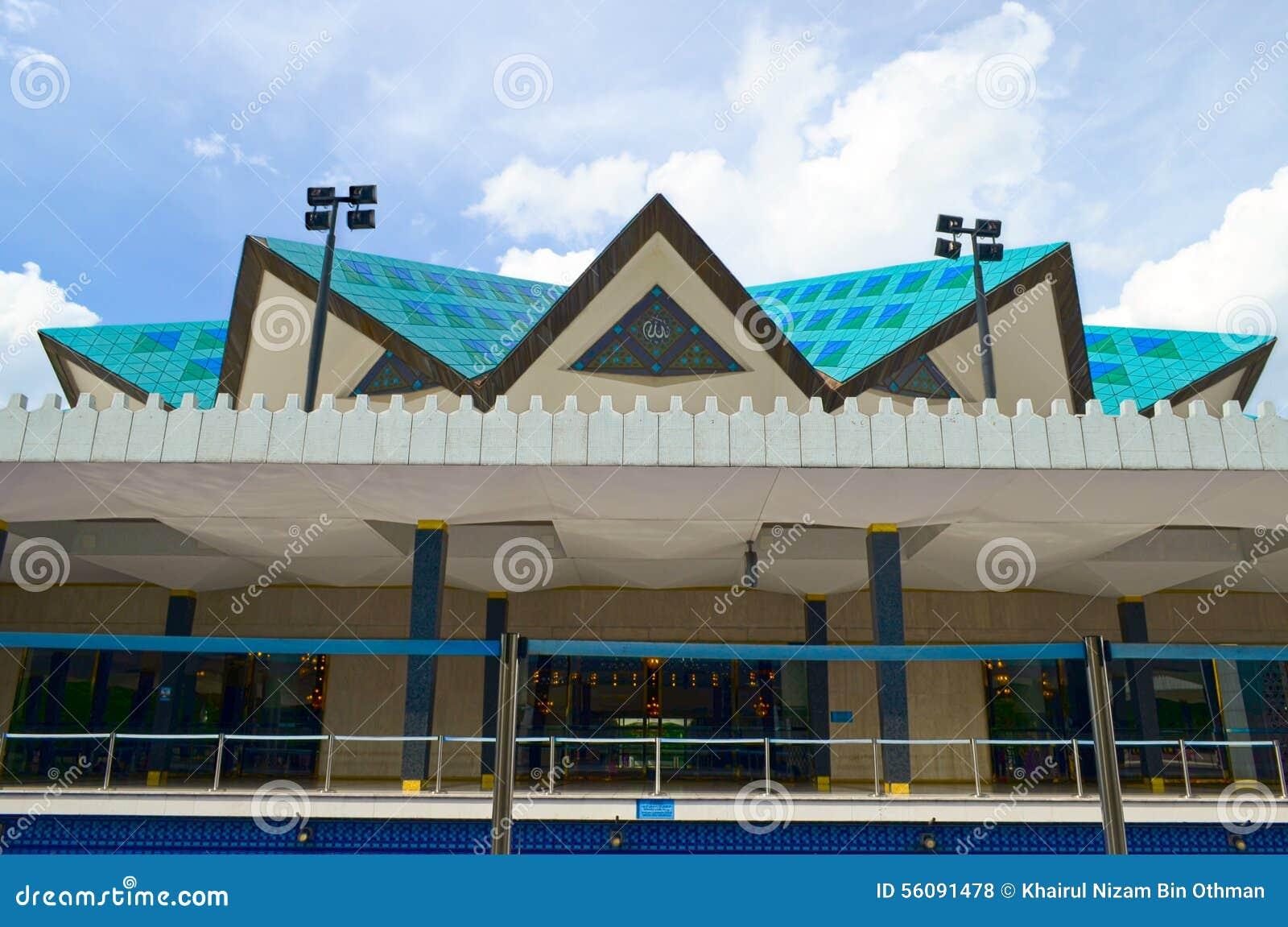 Nationale Moschee von Kuala Lumpur, Malaysia