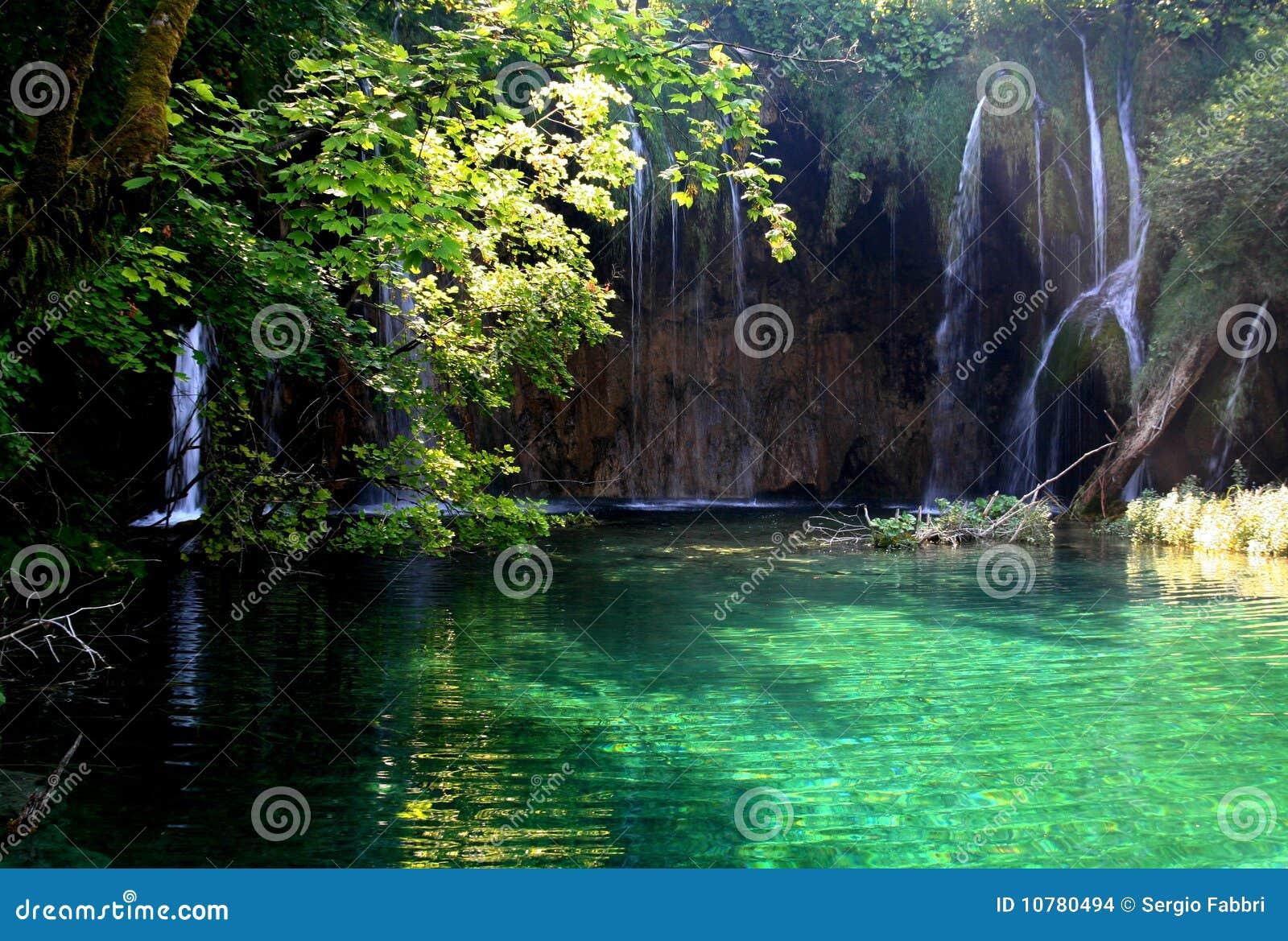 Nationale Park van Plitvice/watervallen 4