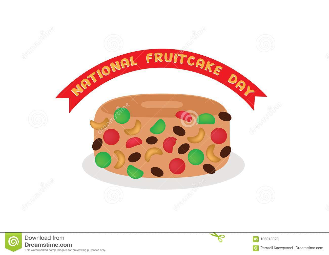 Nationaler Fruchtkuchen-Tag