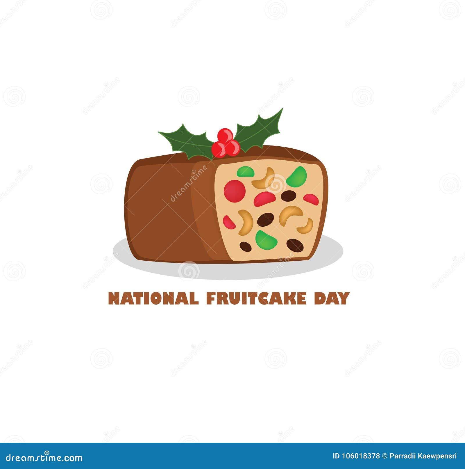Nationaler Fruchtkuchen-Tag
