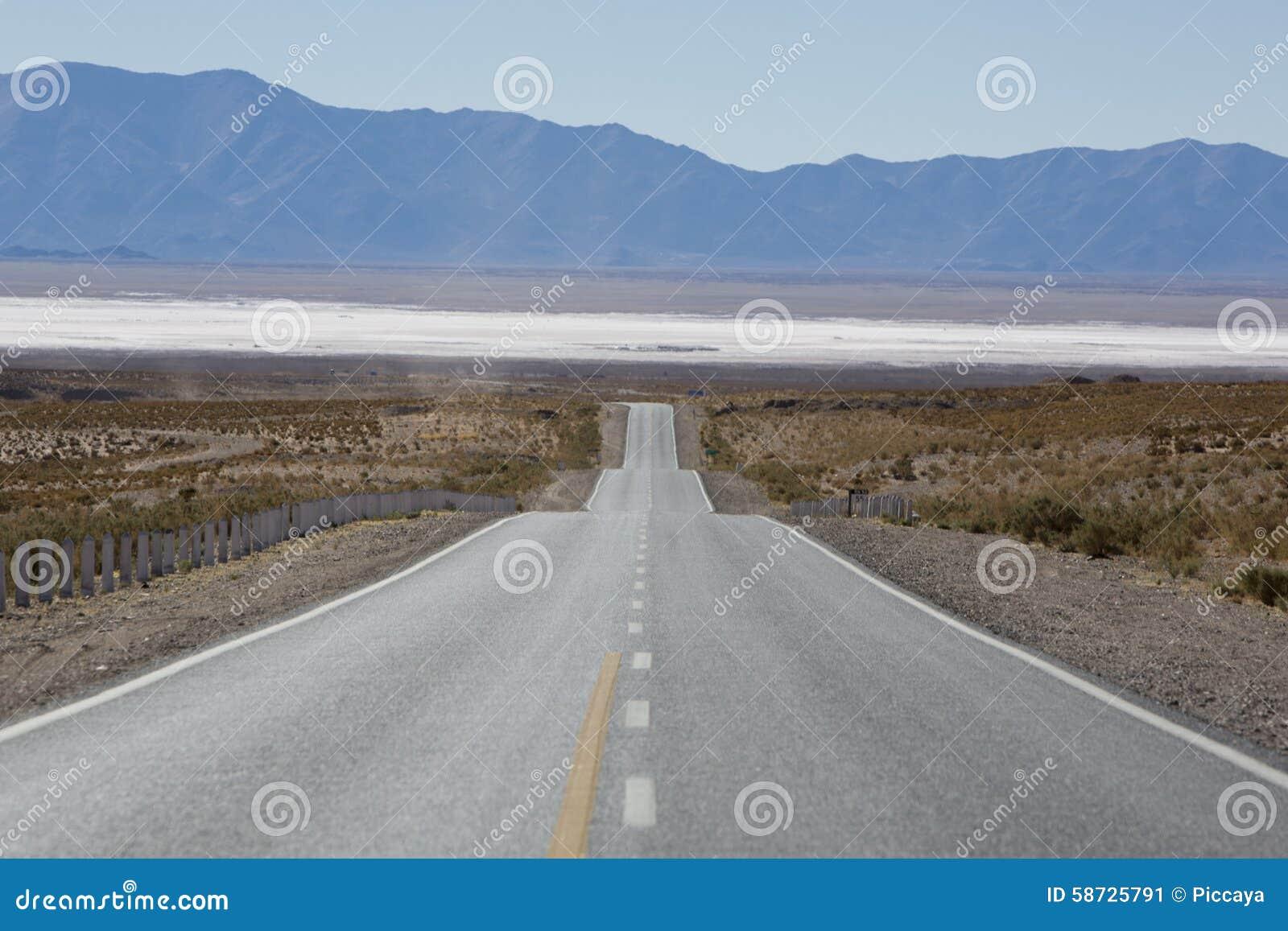 Nationell rutt 40 i nordliga Argentina