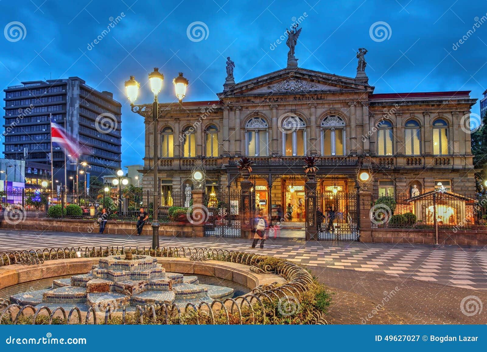 Nationell teater av Costa Rica i San Jose