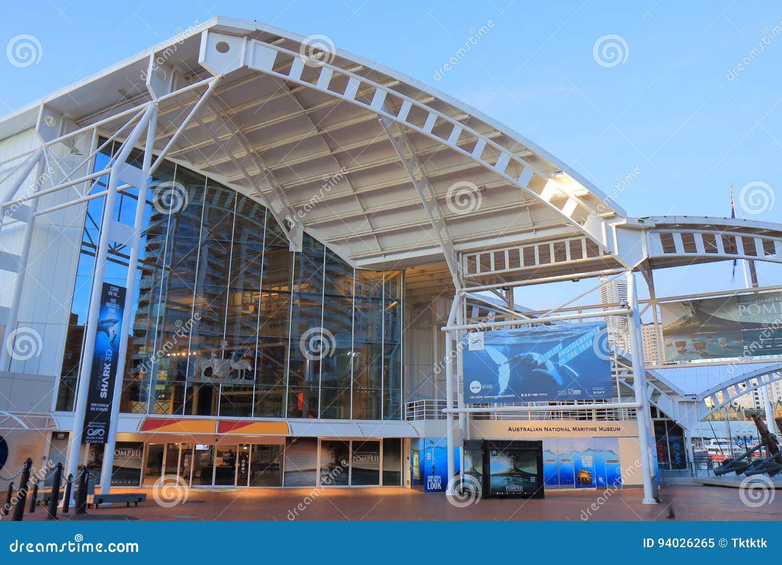 Nationellt maritimt museum Sydney Australia