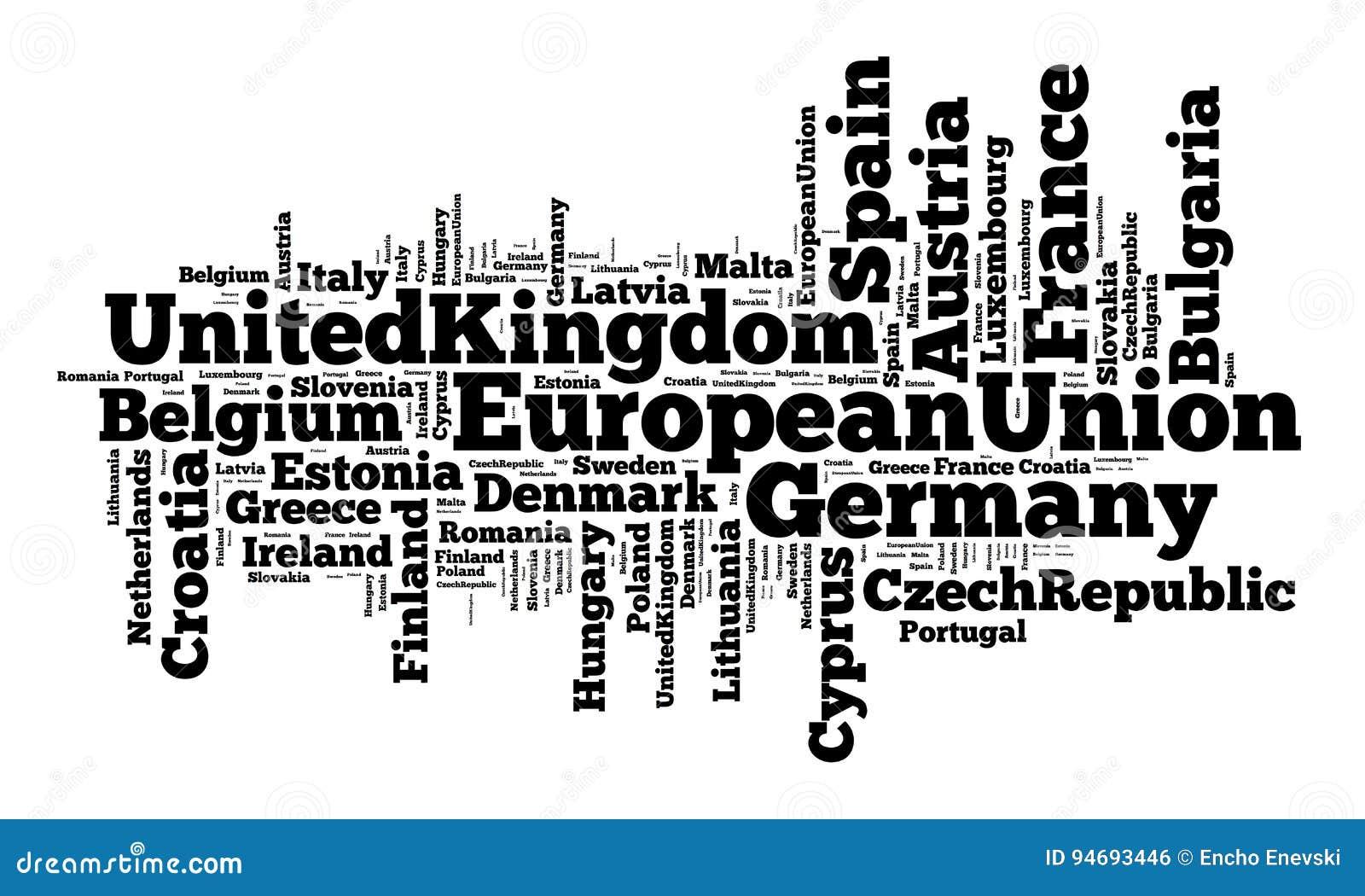 Nationer i europeisk union