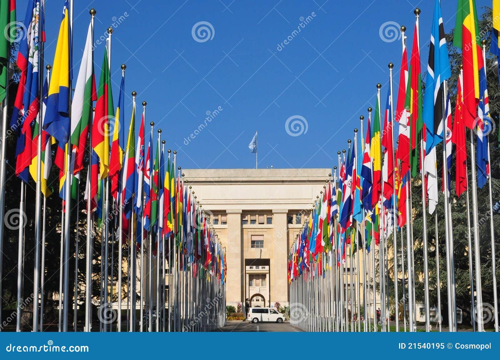 Nations Genève de DES de Palais