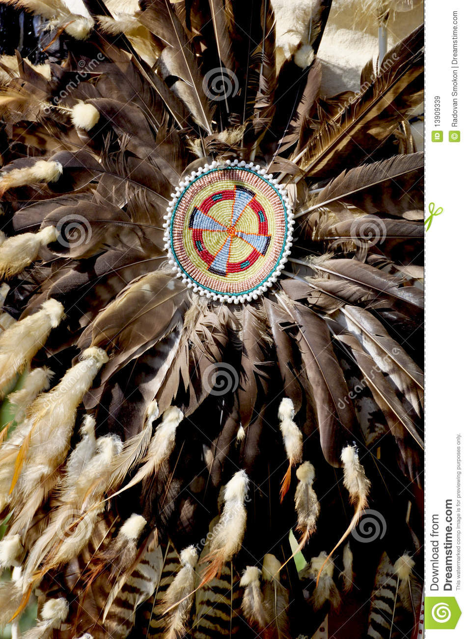 Native American Decorations Stock Image - Image of pageant
