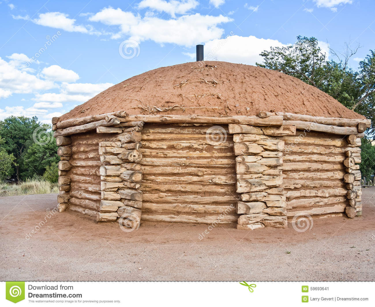 Primitive Native American Dwelling Stock Photos, Images ...