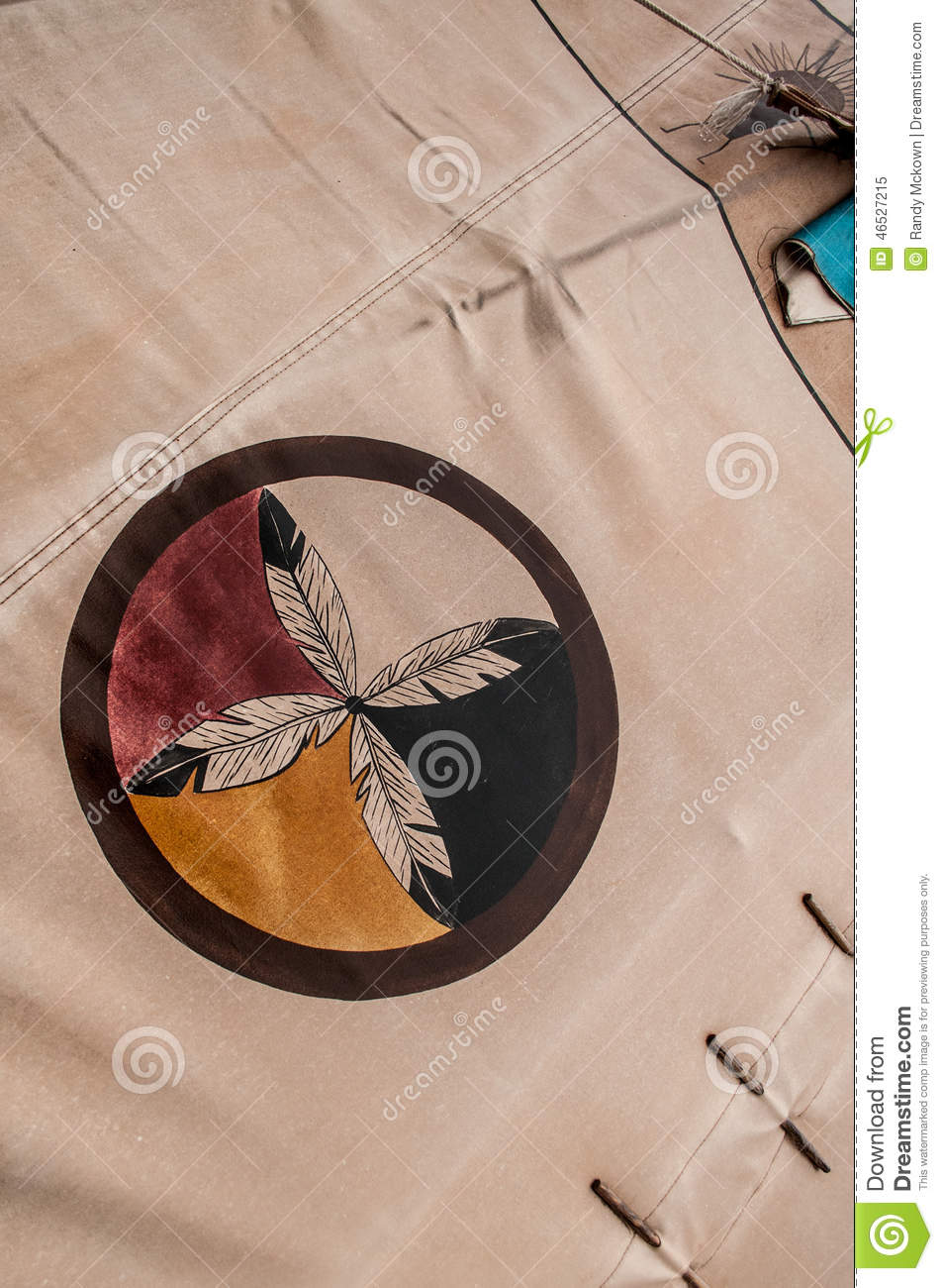 Native american indian symbol circle of feathers stock image native american indian symbol circle of feathers buycottarizona
