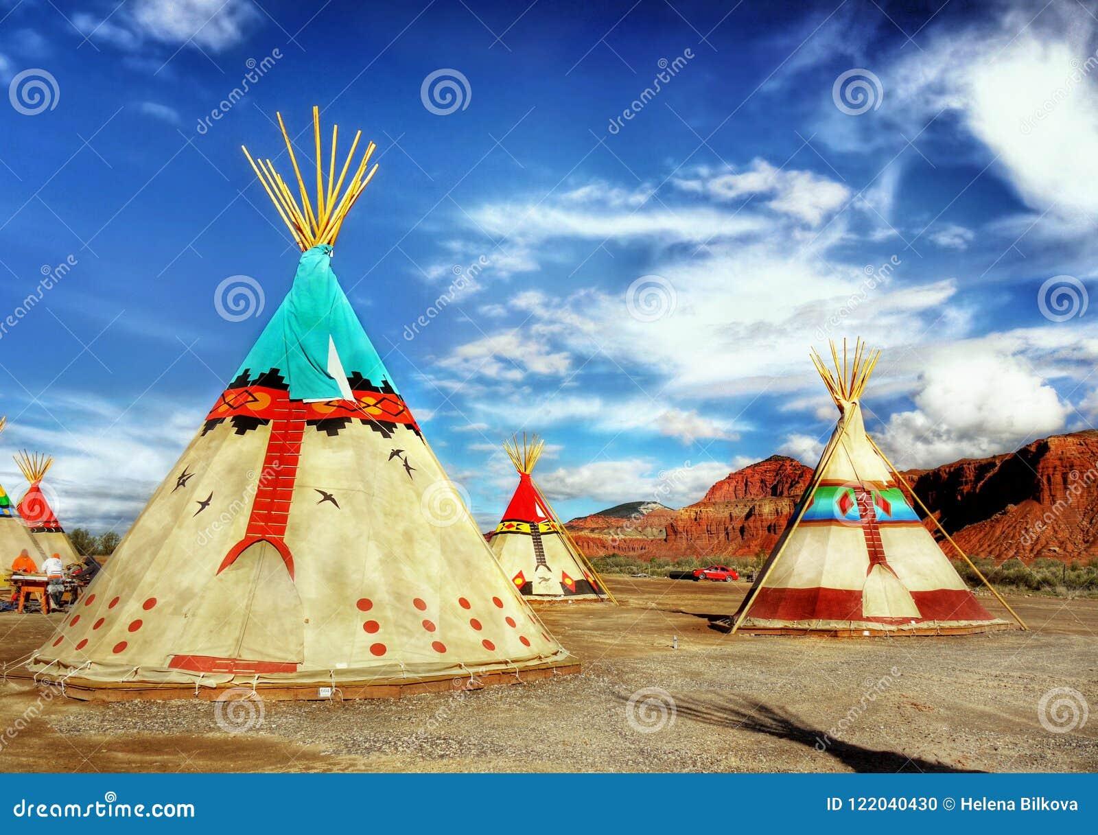 Native American Indian Tents Teepee