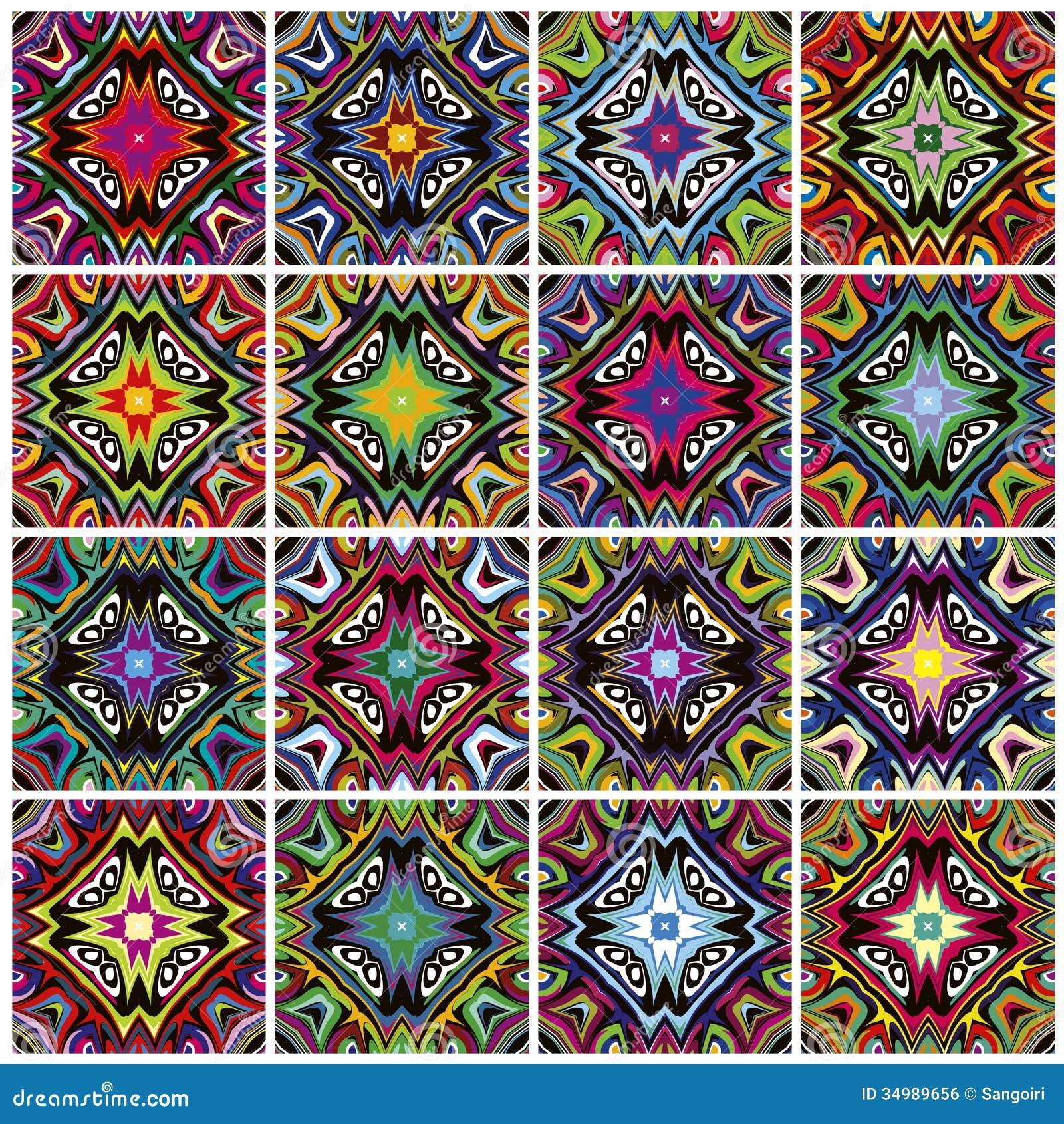 Native American Patterns Royalty Free Stock Image Image
