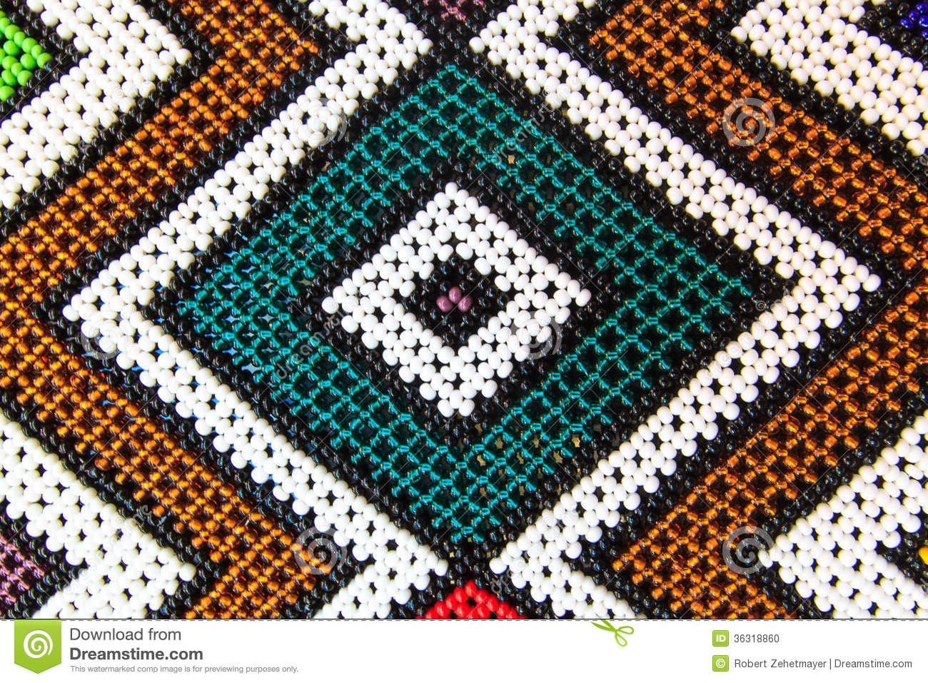Native American Pearl Pattern Stock Photo - Image: 36318860