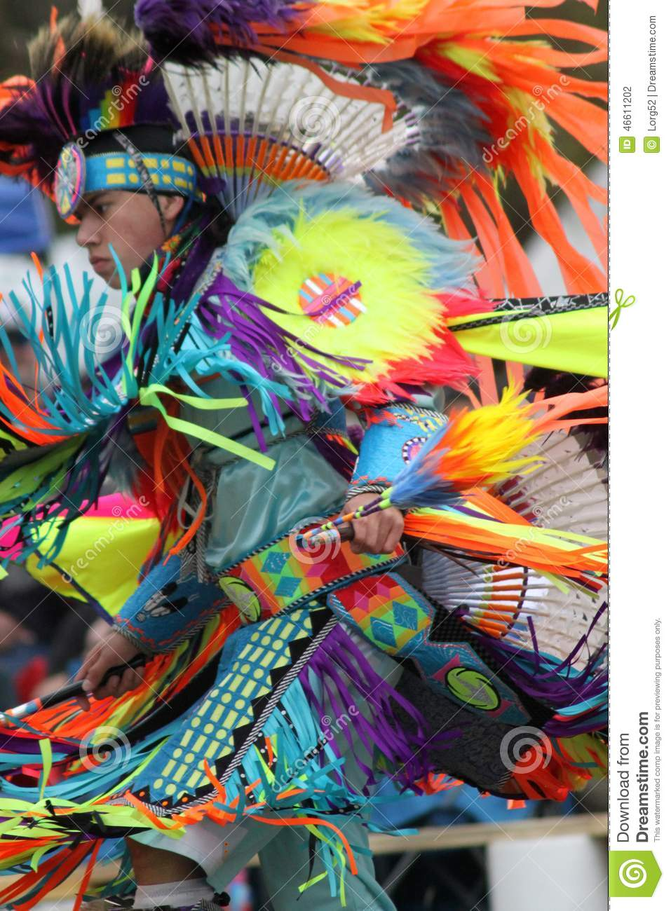 Native American at Pow Wow