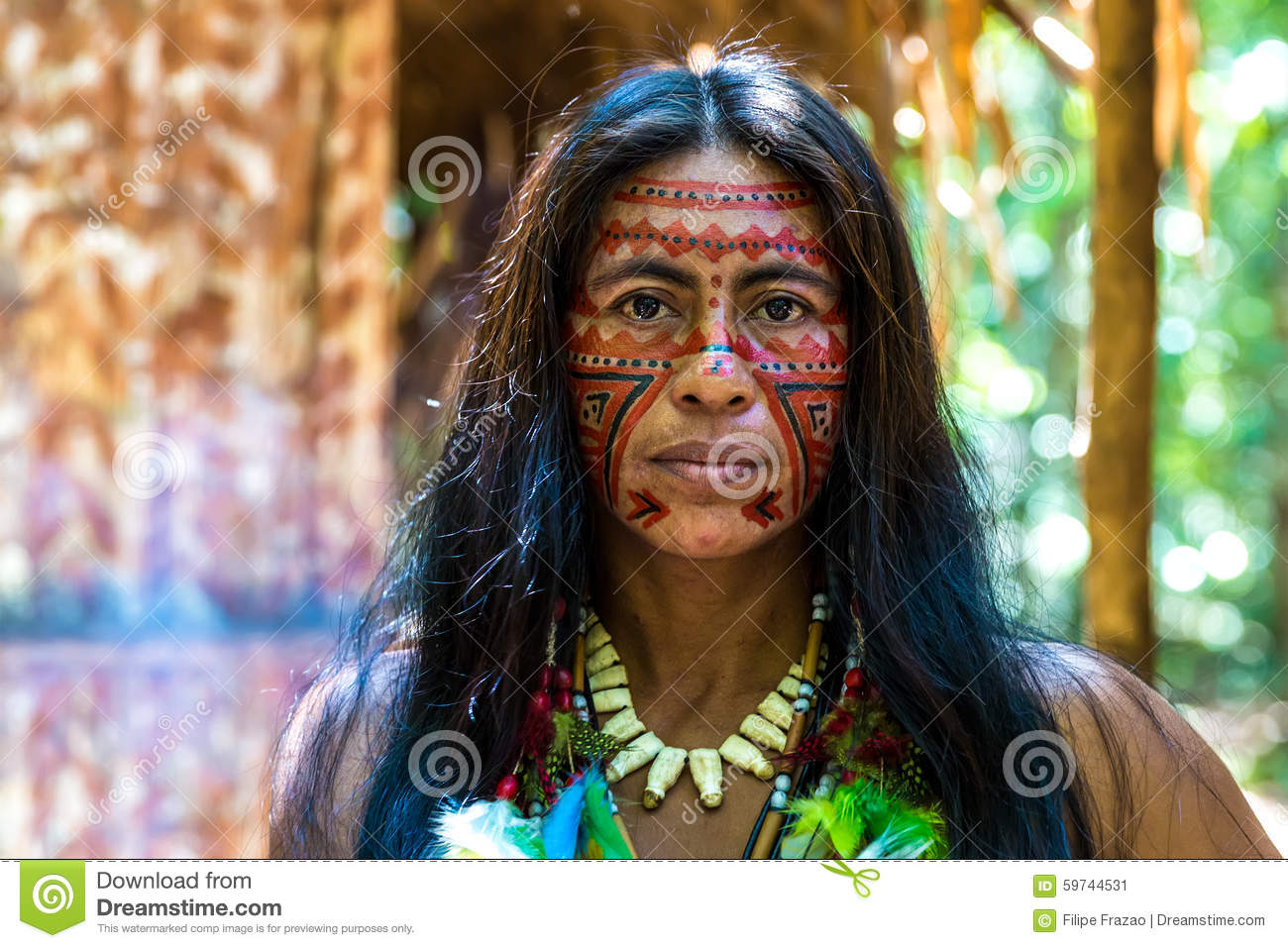 Amazonian Tribe Women amazonian woman stock photos, images, & pictures ...