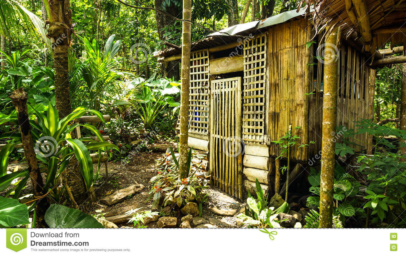 Native House In The Philippines Stock Image - Image of ... on philippine house design architecture, philippine native chicken house, philippine tropical beach house designs, philippine farm house design, philippine bahay kubo design, philippine bamboo house interior, philippine house model design, nipa house bamboo, philippine bamboo products, philippine nipa house design,