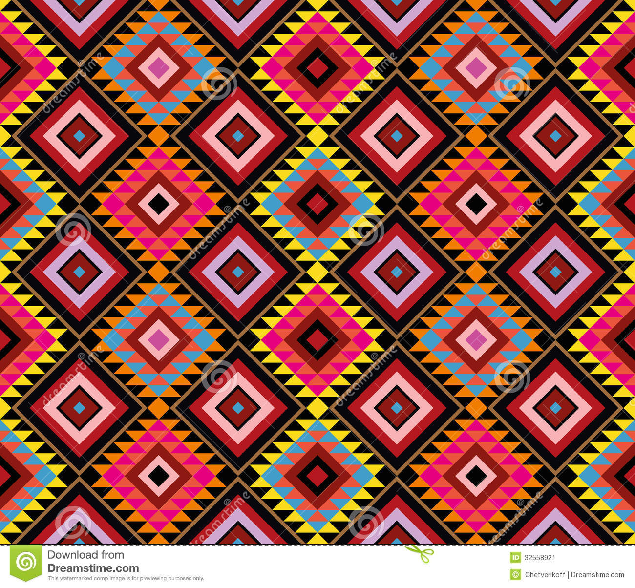 Native Pattern Stock Image Image 32558921