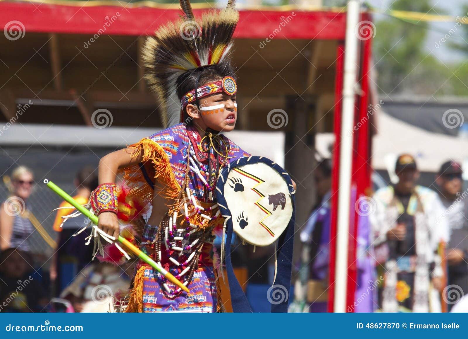 Native pow wow south dakota
