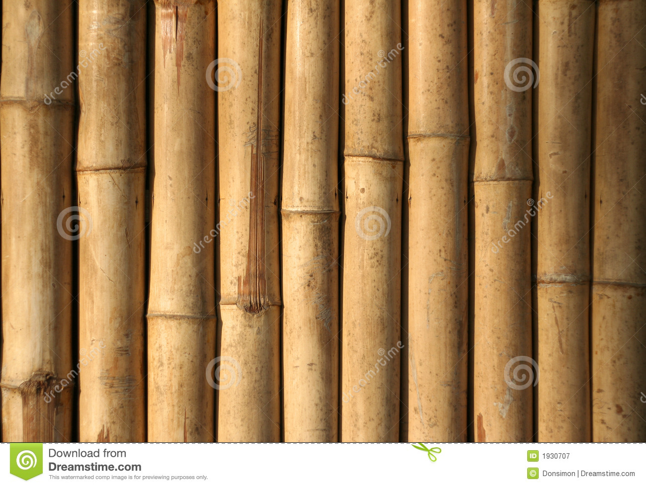 Native Style Bamboo Background Philippines Royalty Free