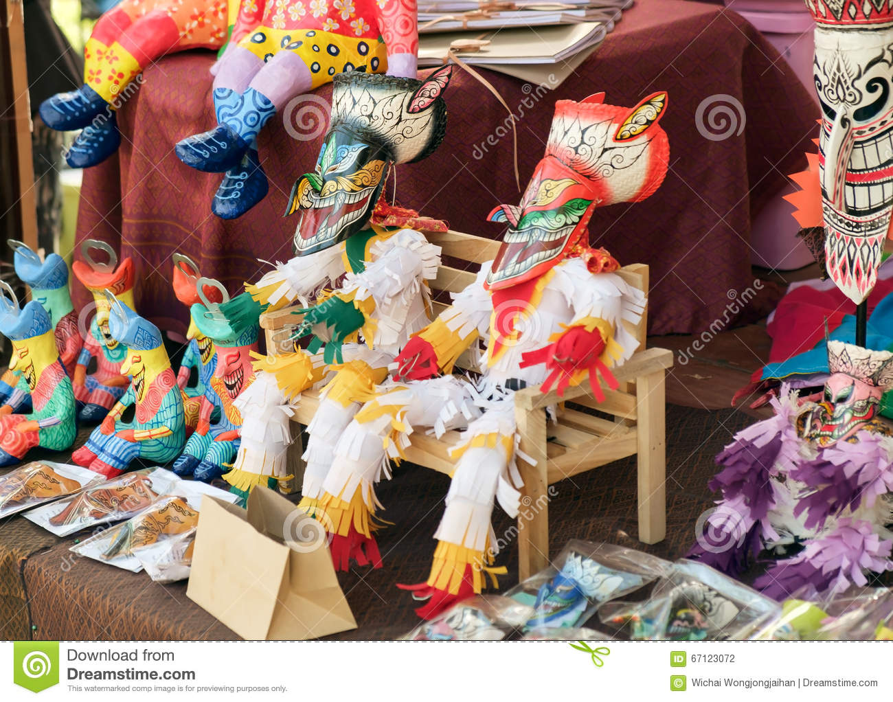 Native Toy Stock Photo Image Of Wooden Design Object 67123072