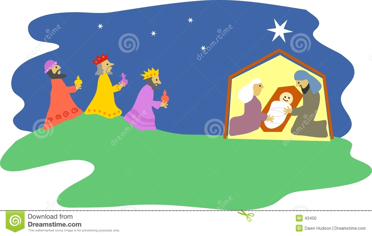 Download Natividad ilustración del vector. Ilustración de maria, holiday - 43450