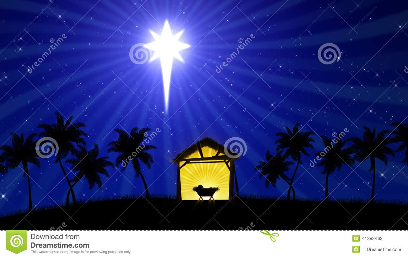 Christmas Stable Background.Nativity 02 Animated Background Stock Video Video Of