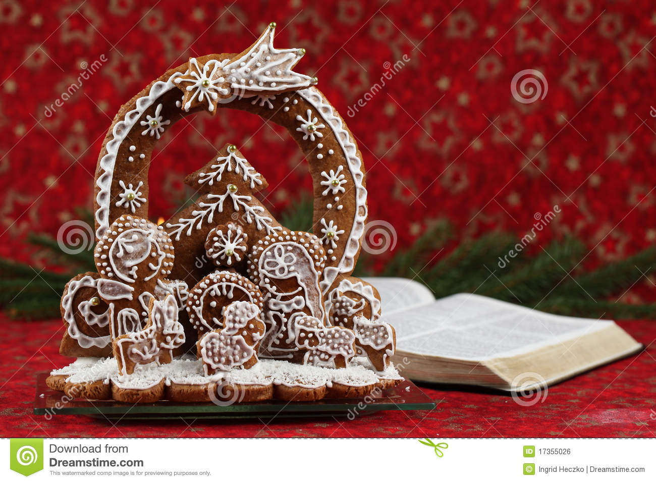 nativity and the bible stock photo  image of gospel  open