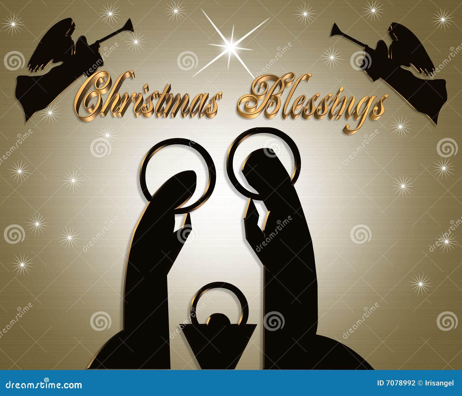 Nativity Christmas Abstract Stock Photography - Image: 7078992