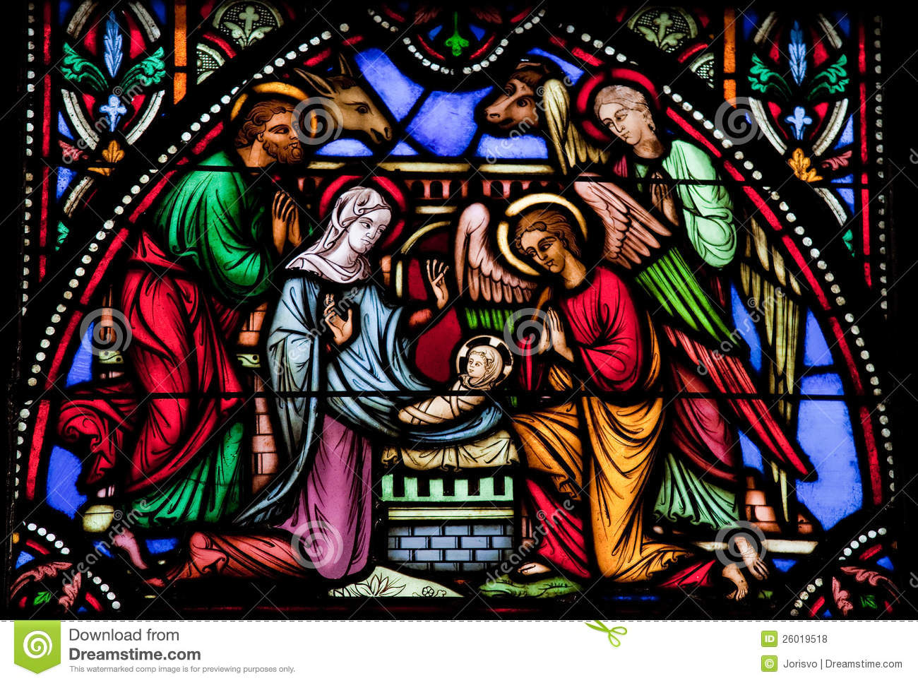 Nativity Scene Royalty Free Stock Photos Image 26019518