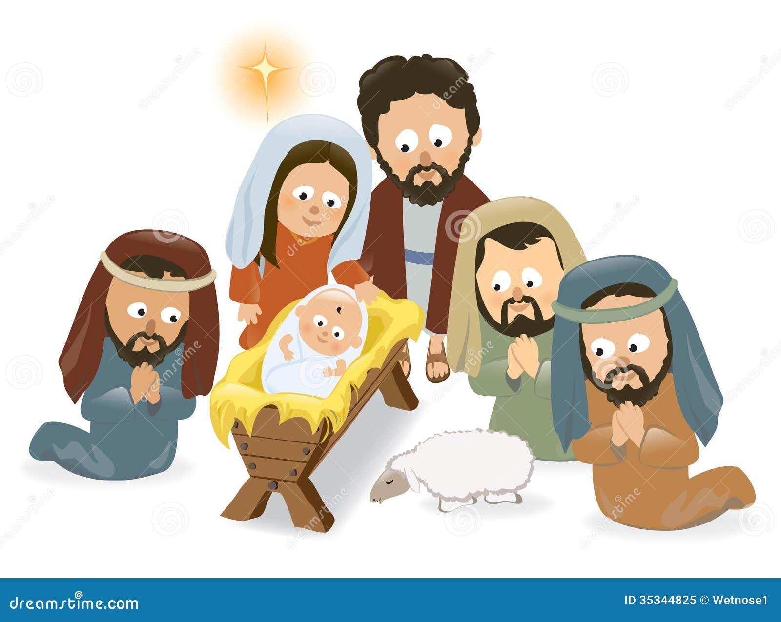Nativity Scene Royalty Free Stock Photo - Image: 35344825