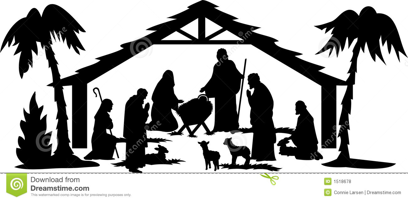 nativity silhouettes melo in tandem co rh melo in tandem co nativity scene clipart free nativity clipart free download